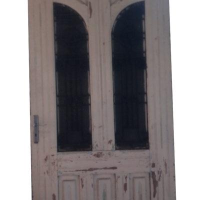 Grande porte blanche