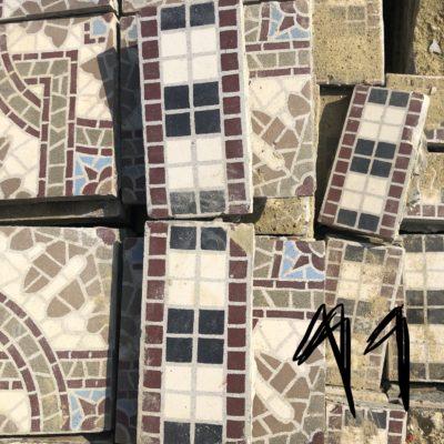 frise de carreaux de ciment mat riaux authentiques. Black Bedroom Furniture Sets. Home Design Ideas