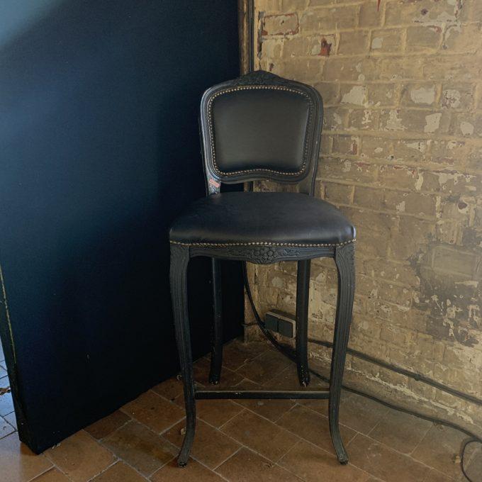 Chaise haute baroque
