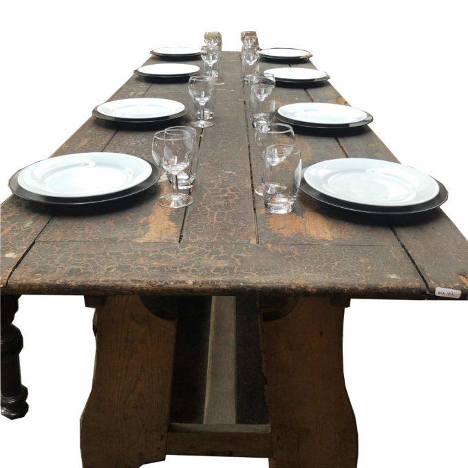 table style grange en chêne