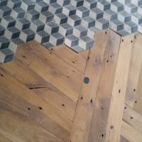 Mix parquet carreaux de ciment