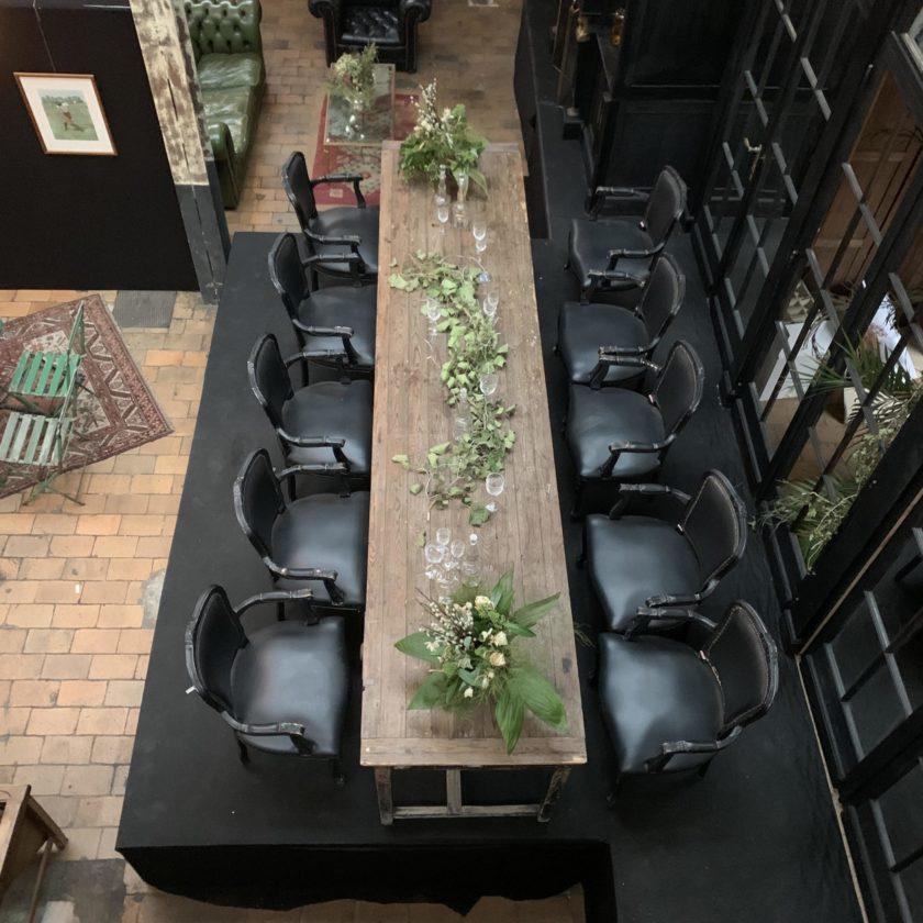 grande table bois style ferme