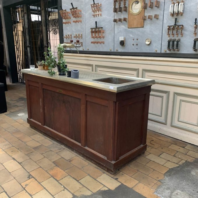 Bar vintage étamé