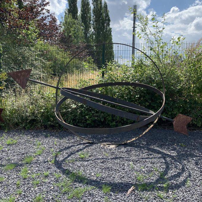 Sculpture orbite extérieur