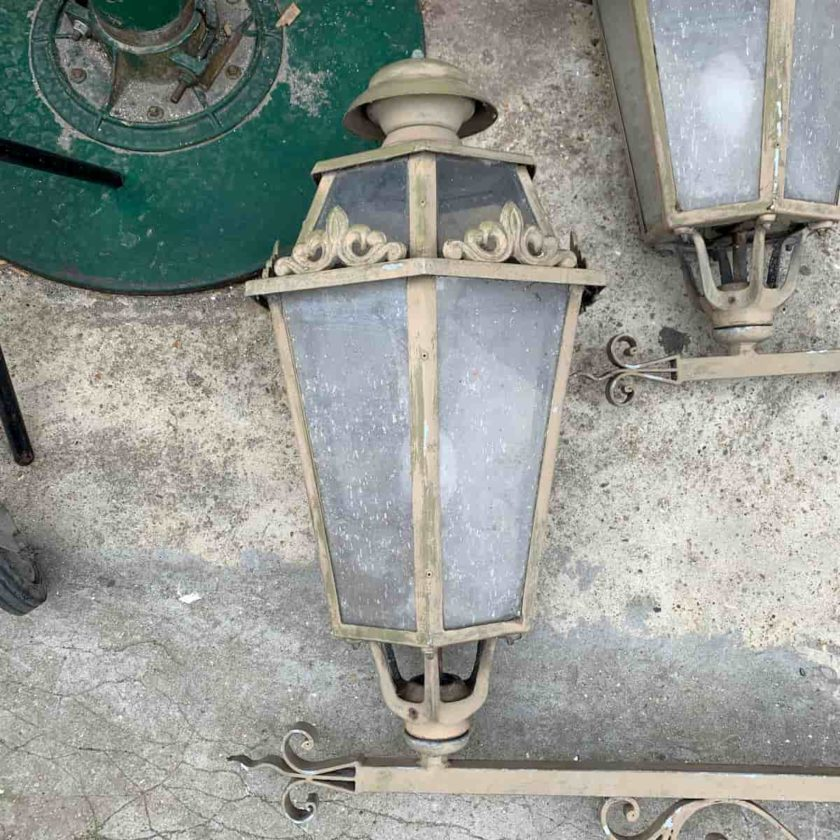 Luminaire extérieur métal 2