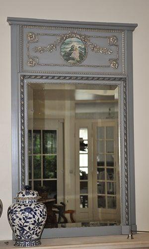 Trumeau miroir vintage