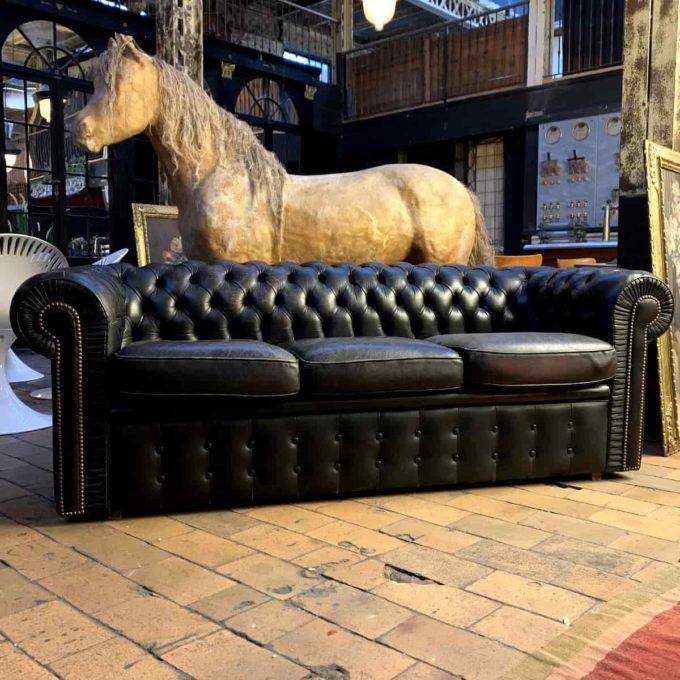 chesterfield cuir