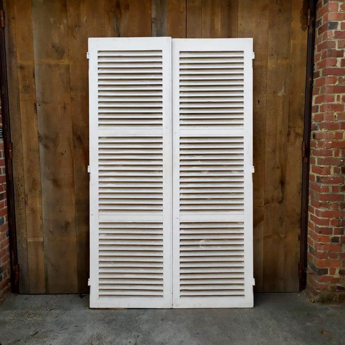 Double white shutters, 153.5 * 252cm